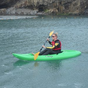 Kayaking in Bude