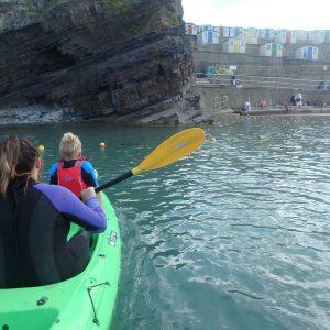 Kayaking Bude Sea Pool